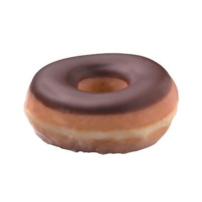 Chocolate Iced Glazed Doughnut