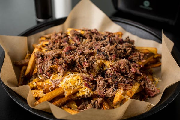 BBQ Fries with BBQ Meat