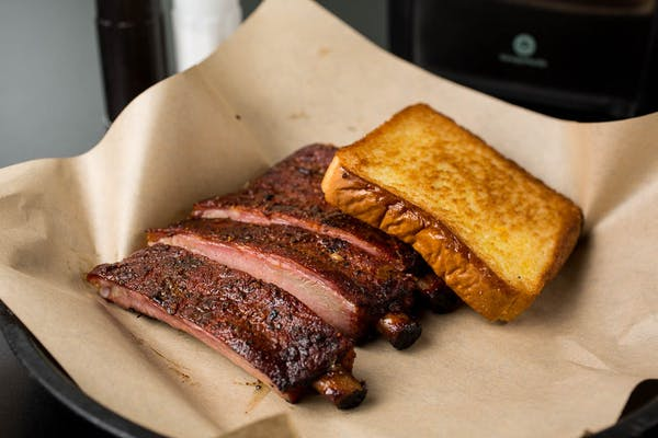 #5 Ribs, Texas Toast & (24 oz.) Drink