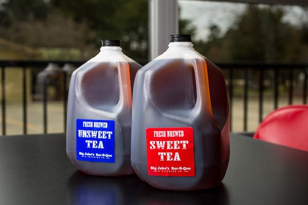 Gallon Unsweet Tea