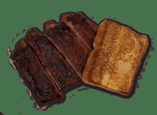 #7 Ribs, Texas Toast & (24 oz.) Drink