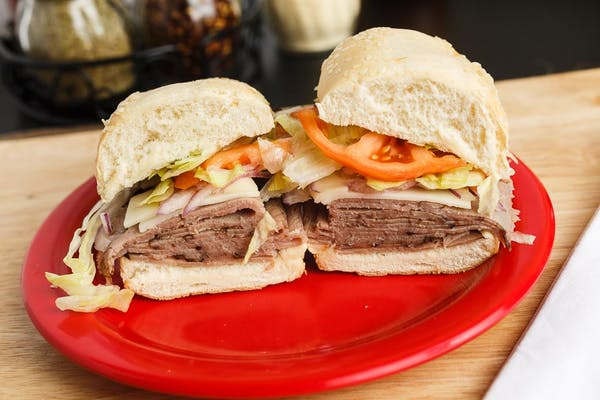 Roast Beef & Cheese Sandwich