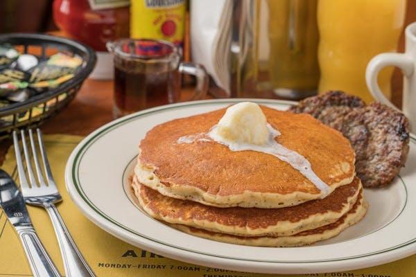 Short Stack Pancake Platter