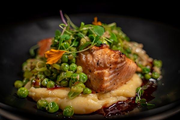 Wood Grilled Ora King Salmon