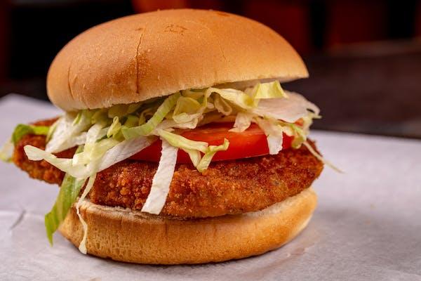 Veal Cutlet Burger