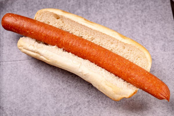 Hot Dog on French Bread