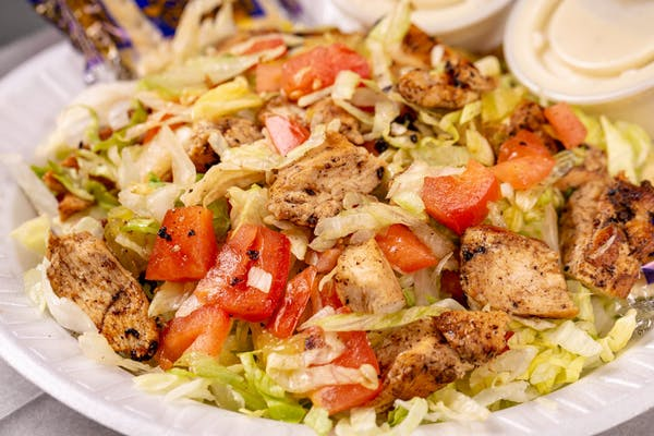 Grilled Chicken Salad Combo