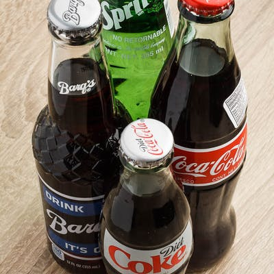 Glass Bottle Coke