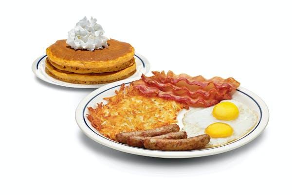 Build Your Seasonal Pancake Combo