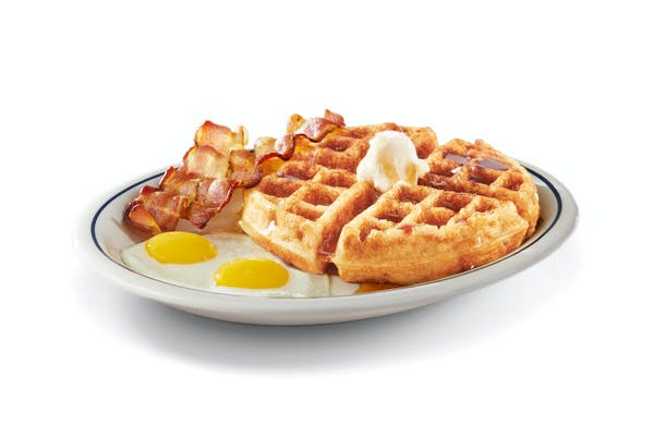 Gluten-Friendly Belgian Waffle Combo