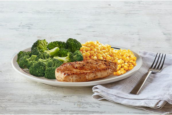 55+ Grilled Chicken Dinner