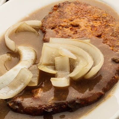 Broiled Liver & Grilled Onions