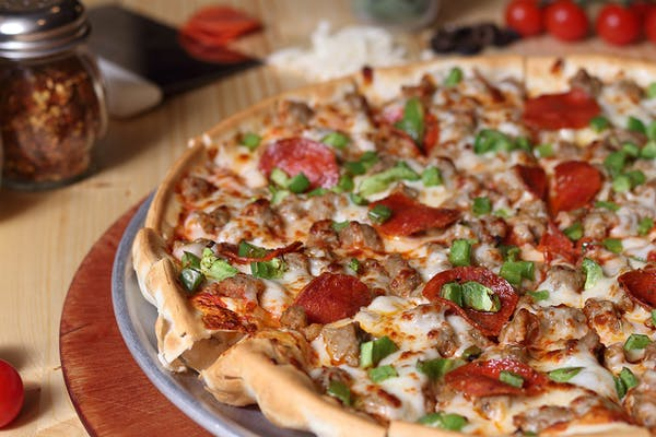Three Topping Pizza