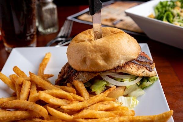 Red Fish Sandwich