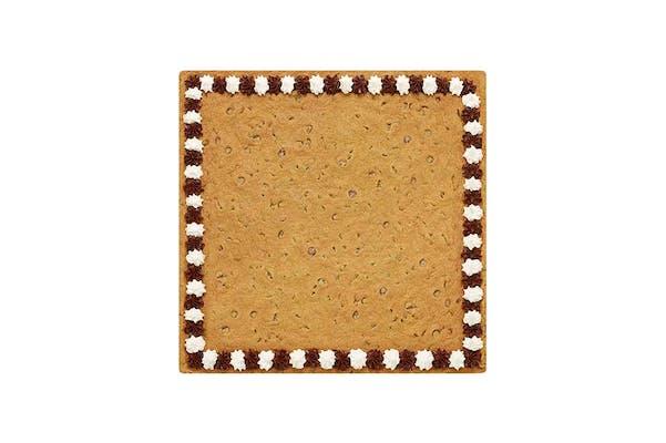 "Square cookie cake 16"""