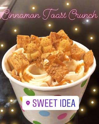 Cinnamon Toast Crunch Rolled Ice Cream