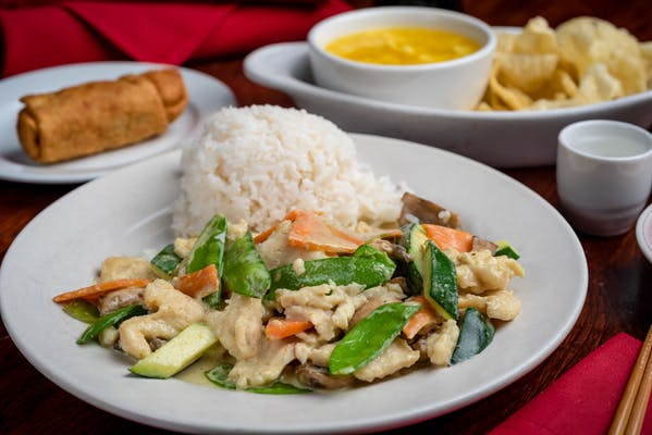 Spicy Thai Green Curry Chicken