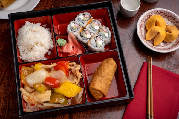 Red Bowl Bento Box