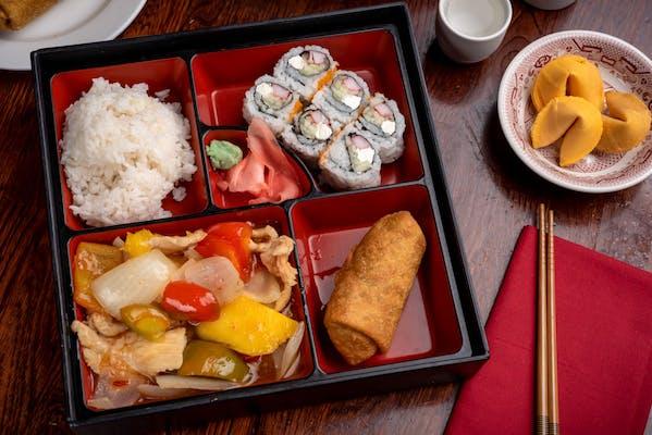 Red Bowl Bento Box