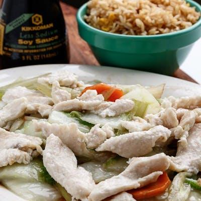 D1. Chicken Chow Mein Platter