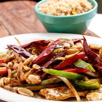 D3. Kung Pow Chicken Platter