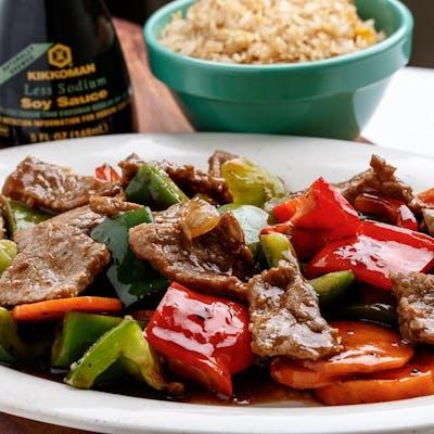 D5. Pepper Steak Platter