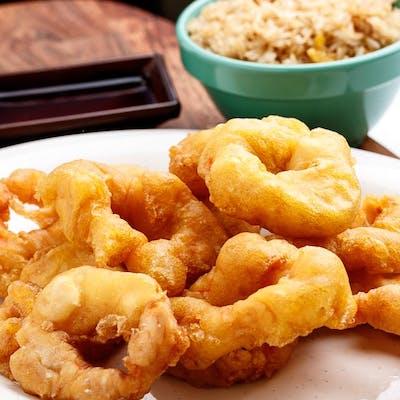 D18. Sweet & Sour Shrimp Platter