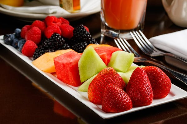 Fresh Melon & Berries