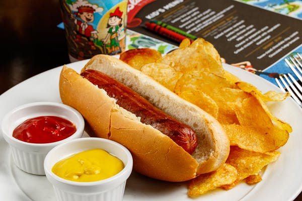 Kid's Jumbo Hot Dog