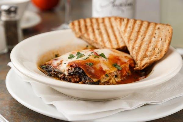 Spinach & Beef Lasagna