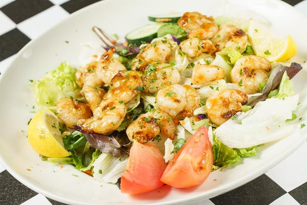 Grilled Marinated Shrimp Salad