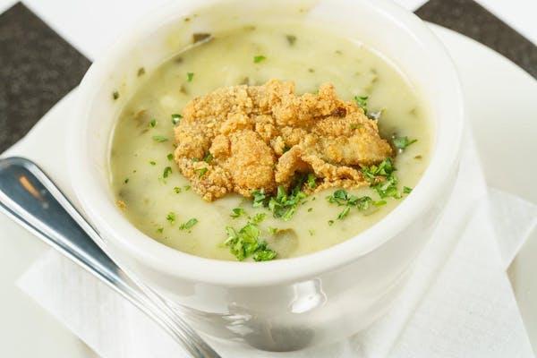Oyster Rockefeller Soup