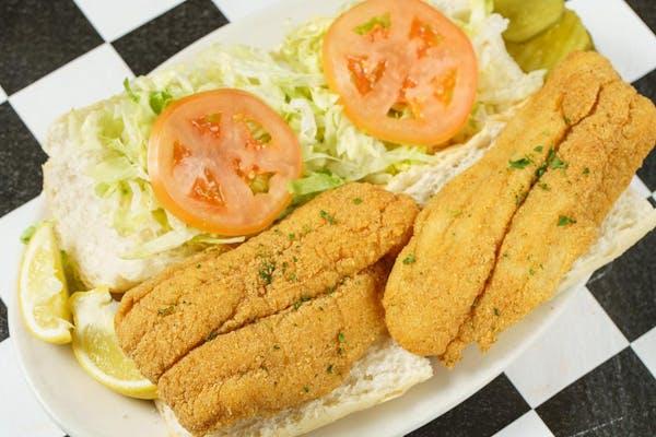 Fried Fish Po-Boy