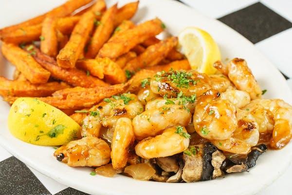 Grilled Marinated Shrimp Platter