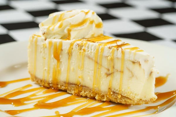 Max's Bananas Foster Cheesecake