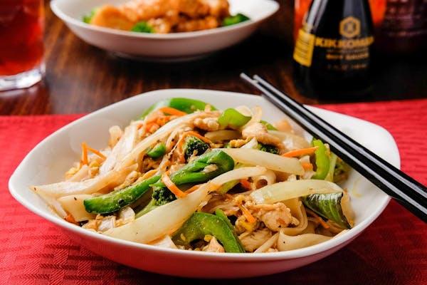 Spicy Drunken Noodles (Pad Kee Mao)