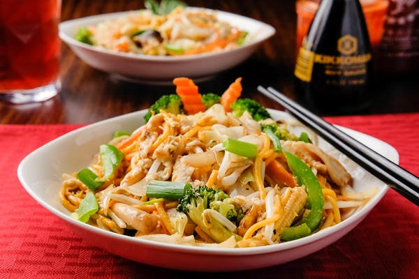 Spicy Ginger Lo Mein