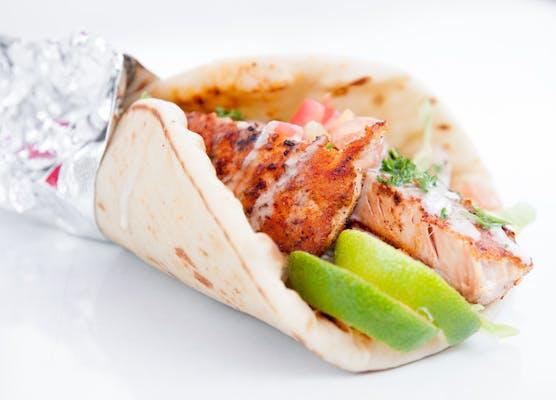 Salmon Pita