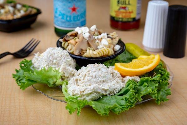 Chicken Salad Sampler Plate