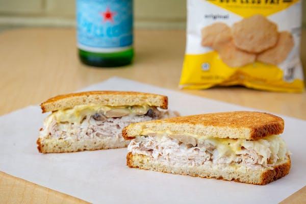 Grilled Turkey Dijon Sandwich