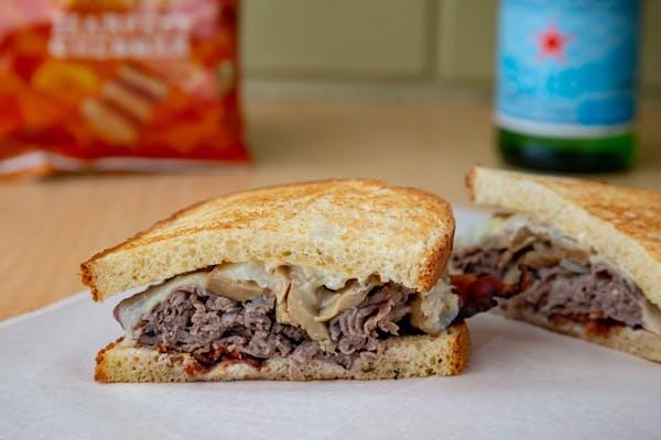 Spirited Beef Sandwich
