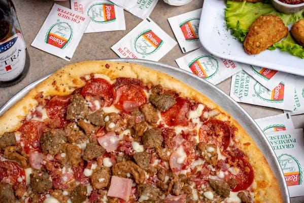 Da'Meat Head Pizza