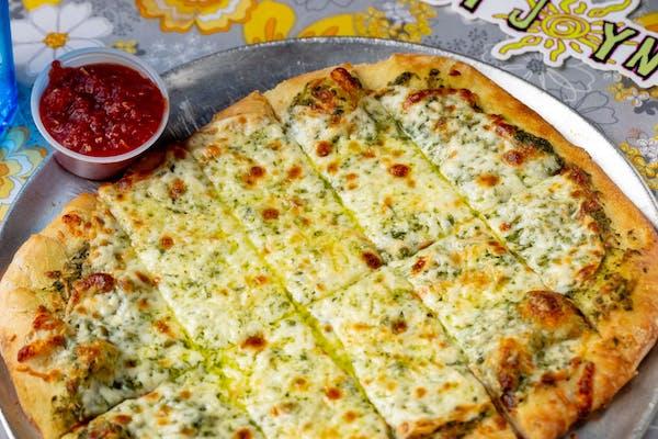 Pesto Cheesy Bread