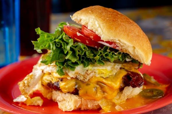 The Bull-Dogger Burger