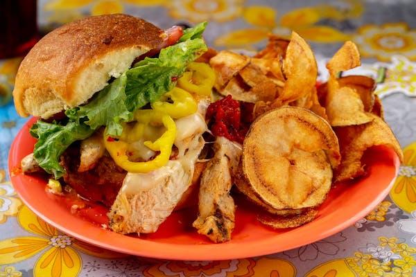 Maerose & Charley Sandwich