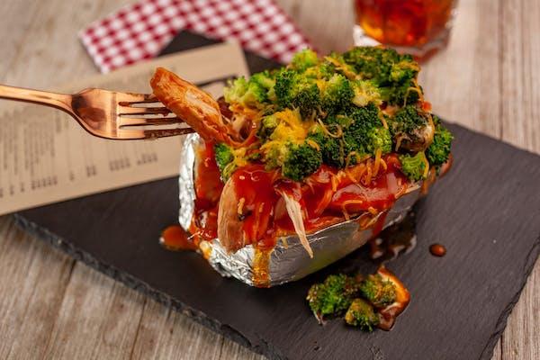 Veggie Stuffed Tater