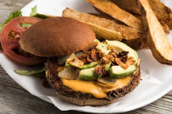 BackSliding Vegan Burger