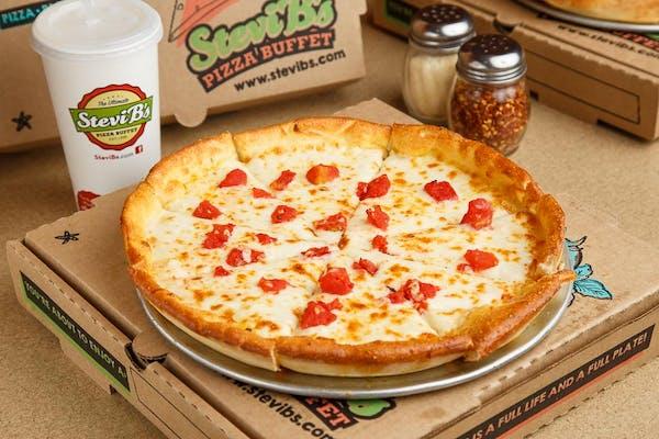 Tomato Alfredo Pizza