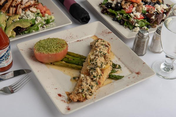 Speckled Trout Almondine