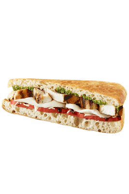 CHICKEN CAPRESE SANDWICH